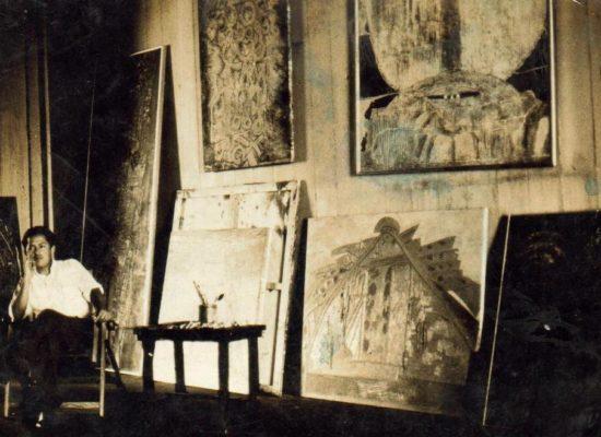 En el taller en Guayaquil 1965